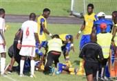 فوتبال جهان| مرگ بازیکن گابنی پس از حمله قلبی در زمین فوتبال