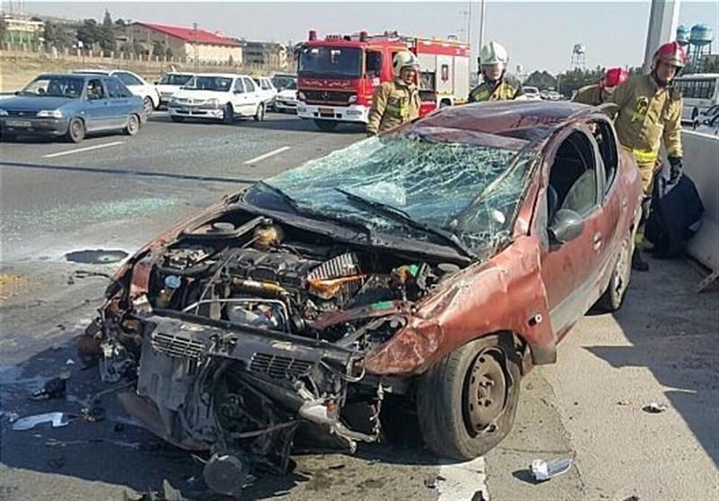 15 هزار کشته و 315 هزار مصدوم بر اثر تصادفات طی 10 ماه