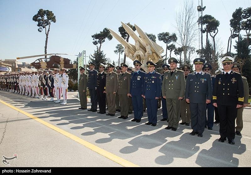 آیین فارغ التحصیلی دانشجویان دانشگاه دافوس ارتش