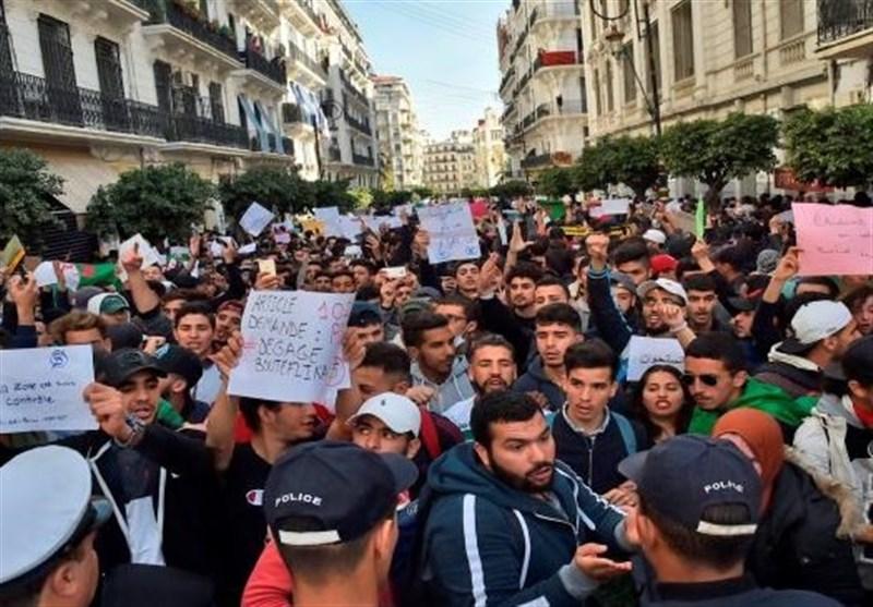 ادامه تظاهرات علیه بوتفلیقه در الجزایر؛ زخمی شدن 112 نفر و بازداشت 195 نفر دیگر