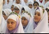 ردای سفید تکلیف بر قامت 600 دختر دامغانی به روایت تصویر