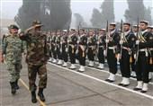 بازدید فرمانده ارتش از مرکز آموزش تفنگداران دریایی نداجا