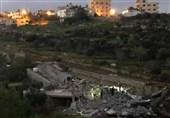 تخریب منزل یک خانواده فلسطینی در مناطق اشغالی 1948