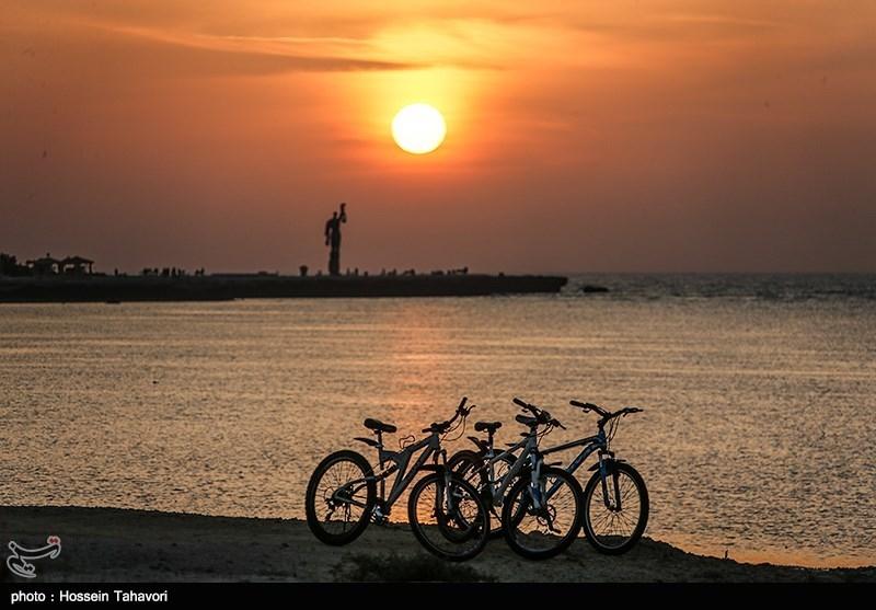عکس | روز ملی خلیج فارس؛ غروب کیش