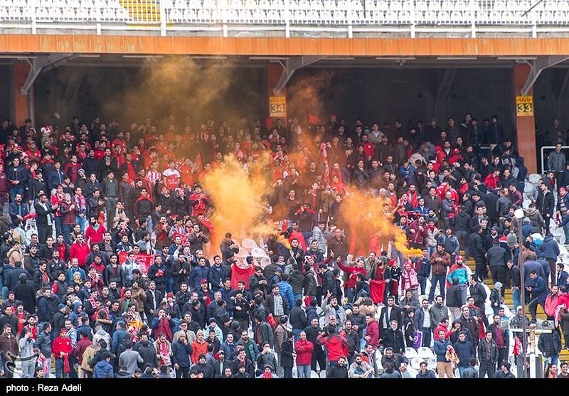 """استقبال از """"یحیی پرسپولیسی"""" با تشویق تراکتورسازی؛ حضور کمتر از 15 هزار نفر در ورزشگاه + عکس"""