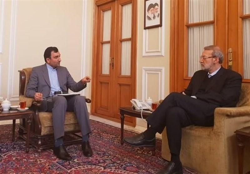 گزارش تسنیم از انتشار خبر متفاوت دیدار رییس سازمان تعزیرات حکومتی با رییس مجلس