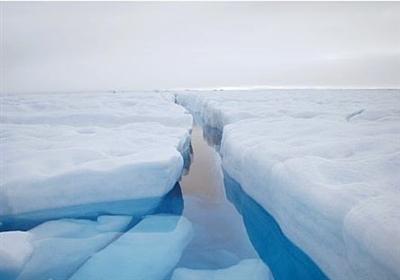 گرین لینڈ میں برف کے خوبصورت مناظر