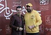 """حضور """"محمد علیزاده"""" در کنسرت """"رحیم شهریاری""""+فیلم"""