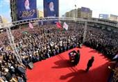 مراسم «روز شهید عراق» با سخنرانی سید عمار حکیم؛ تاکید بر مخالفت با حضور نظامیان خارجی + تصاویر و فیلم