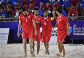 ساحلیبازان ایران اول آسیا و پنجم جهان