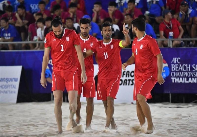 تیم ملی فوتبال ساحلی به ایران بازگشت