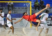 Iran Beach Soccer Drops Two Places in World Ranking
