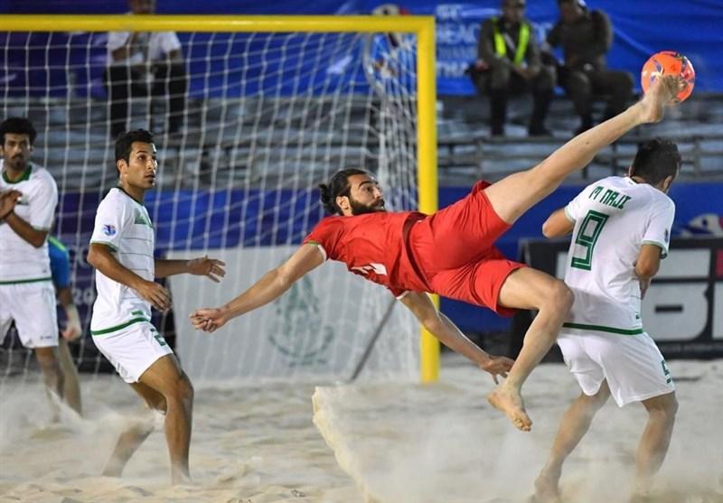 Iran Beats Ukraine in ANOC World Beach Games