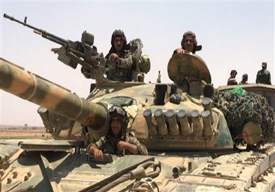 حماہ میں داعشی دہشت گردوں کے متعدد ٹھکانے تباہ/الباغوز کوتکفیریوں سے آزاد کرالیاگیا
