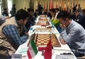 شطرنج قهرمانی جهان| مقام ششمی ایران با شکست مقابل آمریکا