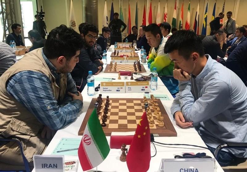 شطرنج قهرمانی جهان| شکست نزدیک ایران برابر مدافع عنوان قهرمانی