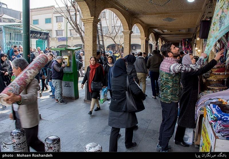 بازار تهران در آرامش، معاملات در جریان/ درخواست جدی بازاریان برای برخورد با اغتشاشگران