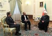 دیدار سفیر جدید ایران در فرانسه با روحانی