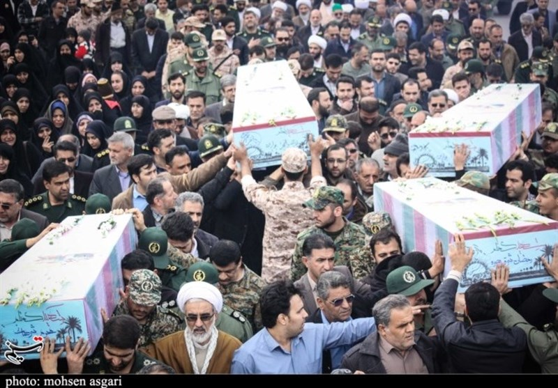 ورود پیکر 4 شهید گمنام دفاع مقدس به گلستان به روایت تصویر
