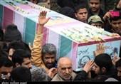 پیکر مطهر 3 شهید گمنام در بوشهر آرام گرفت