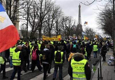 فرانس: پیلی جیکٹ والوں کا احتجاج جاری