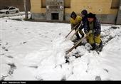 اخطاریه بارش سنگین برف در برخی استانها