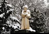 بالصور..الثلوج تغطی مدینة همدان
