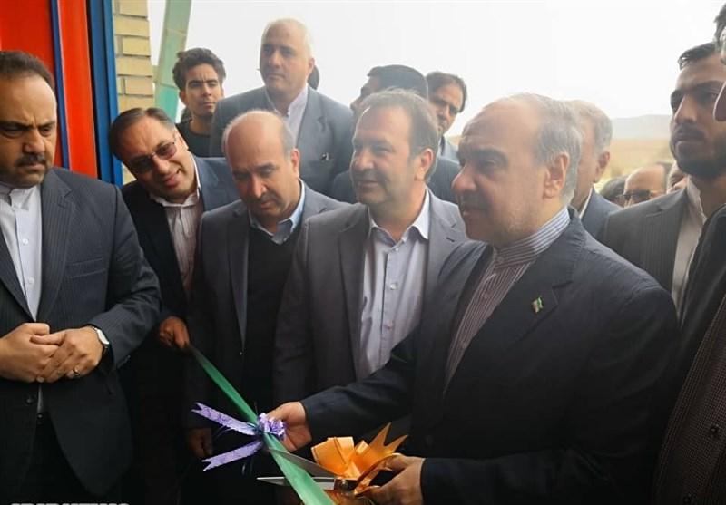 5 پروژه ورزشی در استان فارس با حضور وزیر ورزش افتتاح شد