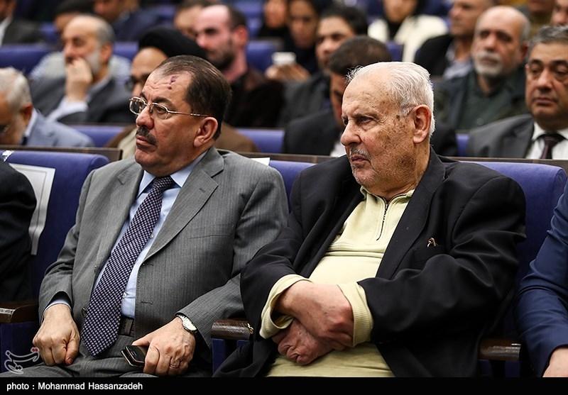 صلاح زواوی سفیر فلسطین در در همایش حکیم؛ محور وحدت