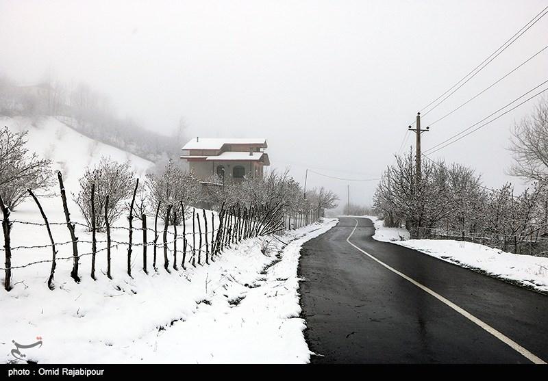 آخرین وضعیت راهها|جادههای 19 استان شاهد بارش برف و باران در پنجمین روز فروردین 98