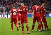 فوتبال جهان| بایرن مونیخ با راه انداختن جشنواره گل، صدر جدول را از چنگ دورتموند درآورد