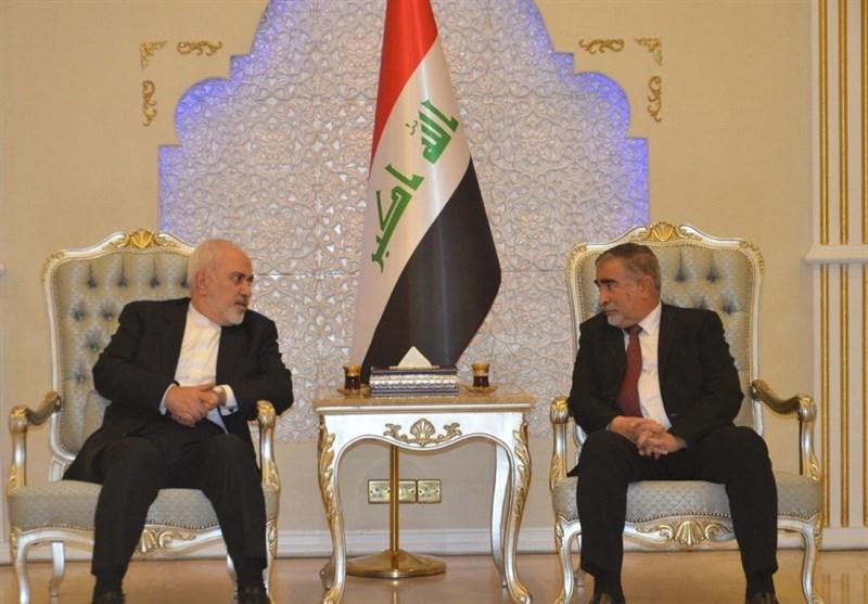 ظریف: امروز یک بیانیه تاریخی از طرف سران ایران و عراق منتشر شد