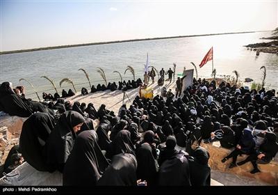 حضور کاروان راهیان نور در مناطق عملیاتی هشت سال دفاع مقدس