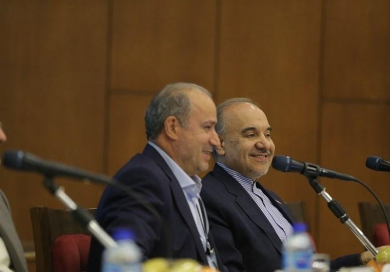 نشست تاج با وزیر ورزش و صالحیامیری