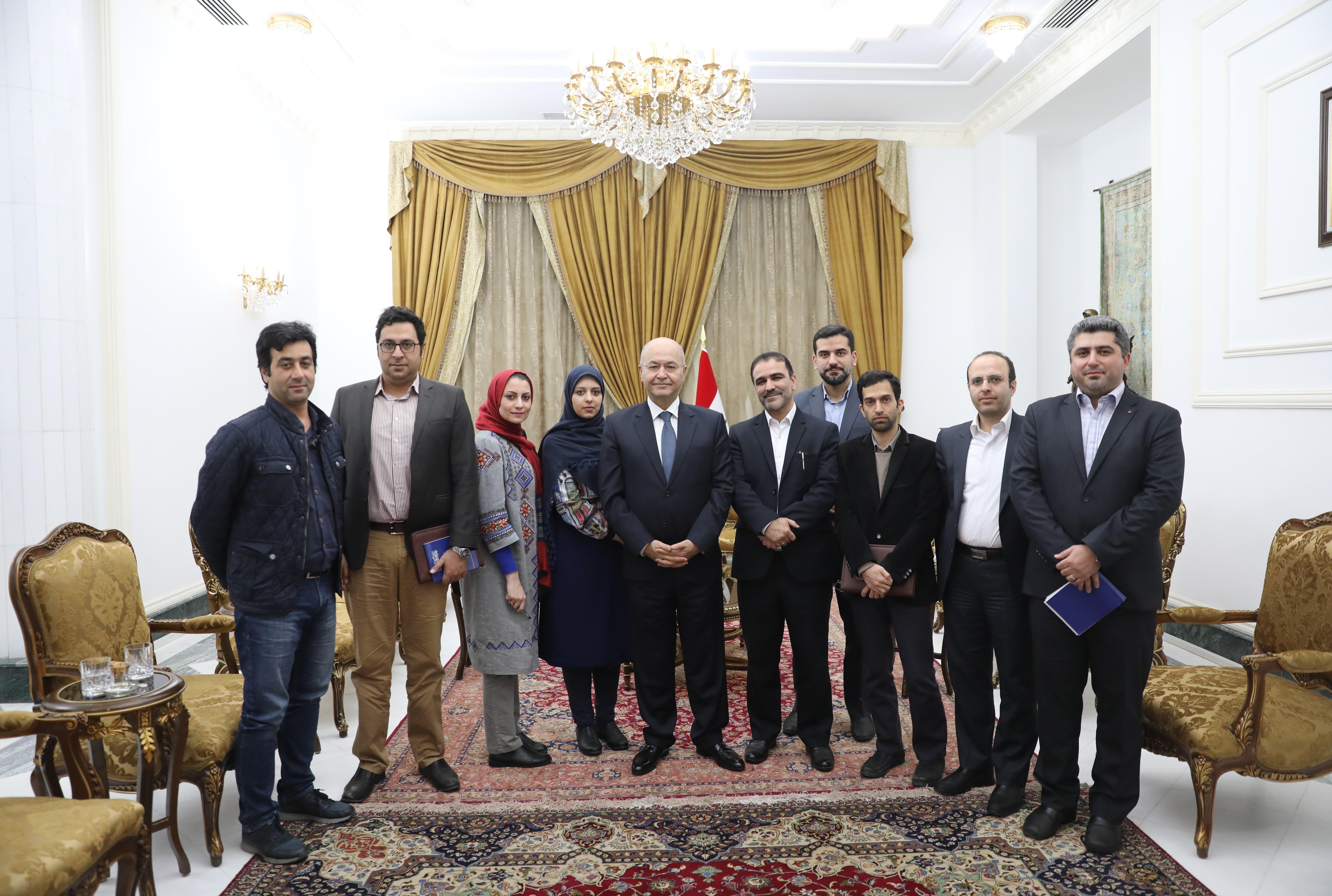 برهم صالح رسانه ایرانی