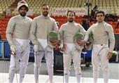 شمشیربازی قهرمانی آسیا| تیم سابر مردان به مدال نقره رسید