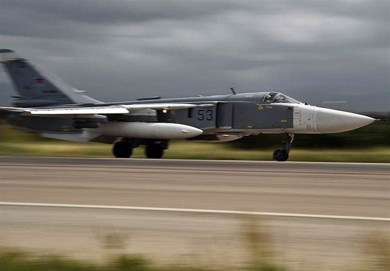 حملات نیروی هوایی روسیه به مواضع تروریستها در ادلب سوریه