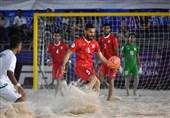 بازیکن تیم ملی فوتبال ساحلی ایران بازیهای ساحلی را از دست داد