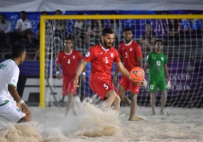 Iran Beach Soccer to Meet Ukraine at ANOC Opener - Sports news