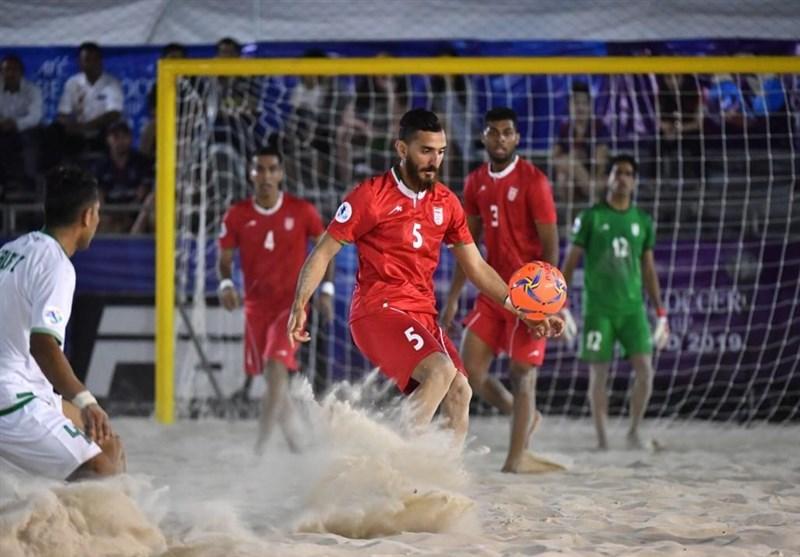 Iran Beach Soccer to Meet Ukraine at ANOC Opener