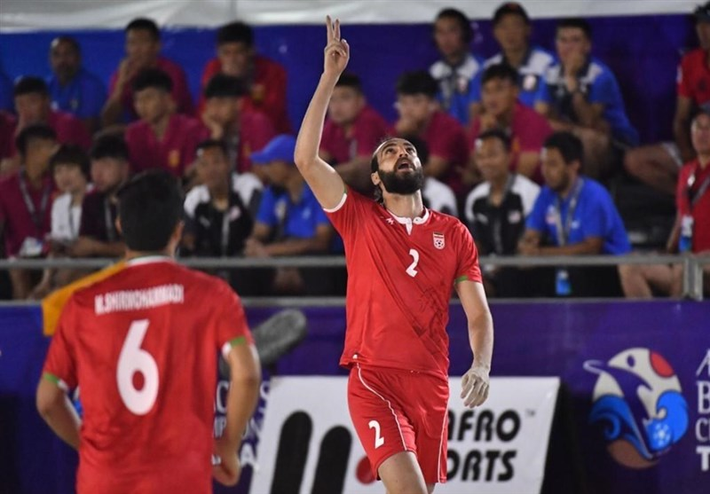 جام بین قارهای فوتبال ساحلی  ساحلی بازان ایران با شکست روسیه حریف امارات شدند