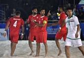 لیگ برتر فوتبال ساحلی/ نخستین برد شهریار در ساری رقم خورد