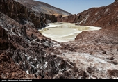 Wonderful Toghrud Salt Dome in Central Iran