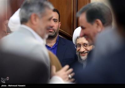 آیتالله صادق آملی لاریجانی رئیس اسبق قوه قضائیه