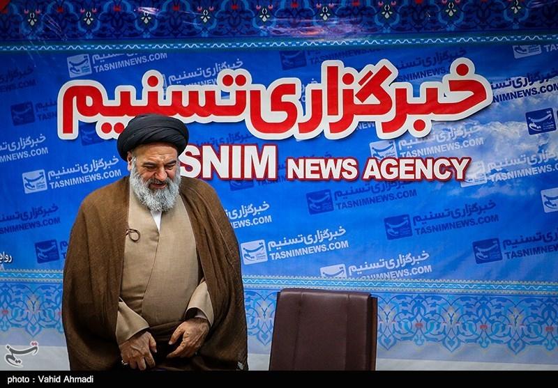 حضور نماینده ولی فقیه کردستان در خبرگزاری تسنیم
