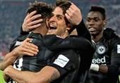 فوتبال جهان| پیروزی اینتراخت فرانکفورت در «کامرز بانک»