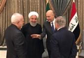 توئیت ظریف از توافقات ایران و عراق در اولین روز سفر روحانی به بغداد