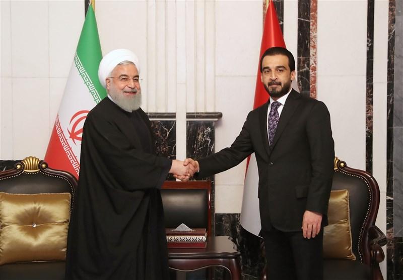 روحانی در دیدار «الحلبوسی»: پارلمانهای ایران و عراق بزرگترین حامی روابط دولتها هستند