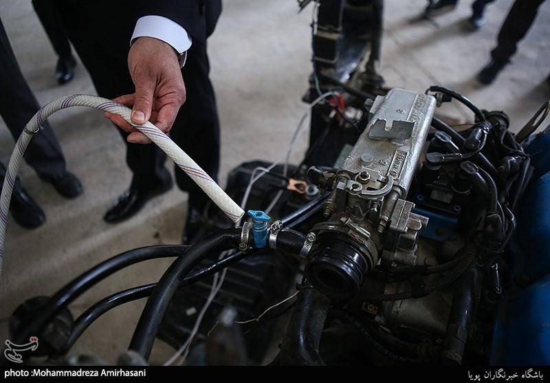 رونمایی از موتور خودروی آب سوز