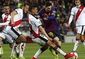 فوتبال جهان| اقدام تحسینبرانگیز لیونل مسی در بازی بارسلونا - رایووایکانو